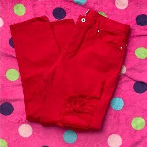 Lucky Sienna slim boyfriend jeans size 8 or 29.